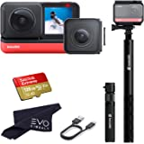 Insta360 ONE R Twin Edition - Super 5.7K Dual-Lens 360 Camera + 4K Wide Angle 60FPS with Bullet Time Kit with 128GB…