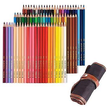 Tomkity 72 Lápices de Colores con Caja Regalo Ideal para Artistas, Adultos y Niños (72 Lápices+bolso-style2): Amazon.es: Oficina y papelería