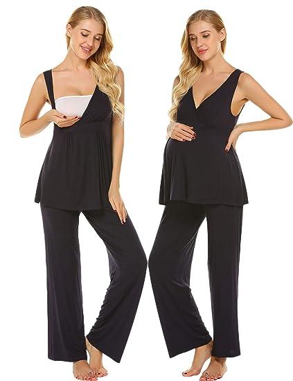 245ca819ef Ekouaer Womens Sexy Cotton Nightgown Short Lace Chemise Sleepwear  Sleepshirts