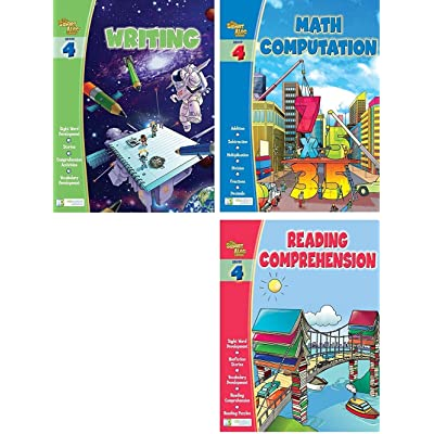 Edgeucational Publishing Smart ALEC (4th Grade) Three Pack Learning Series, Includes: Writing, Math Readiness, Reading Readiness: Toys & Games