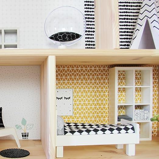 Limmaland Pegatinas para IKEA flisat Casa de ... - Amazon.es