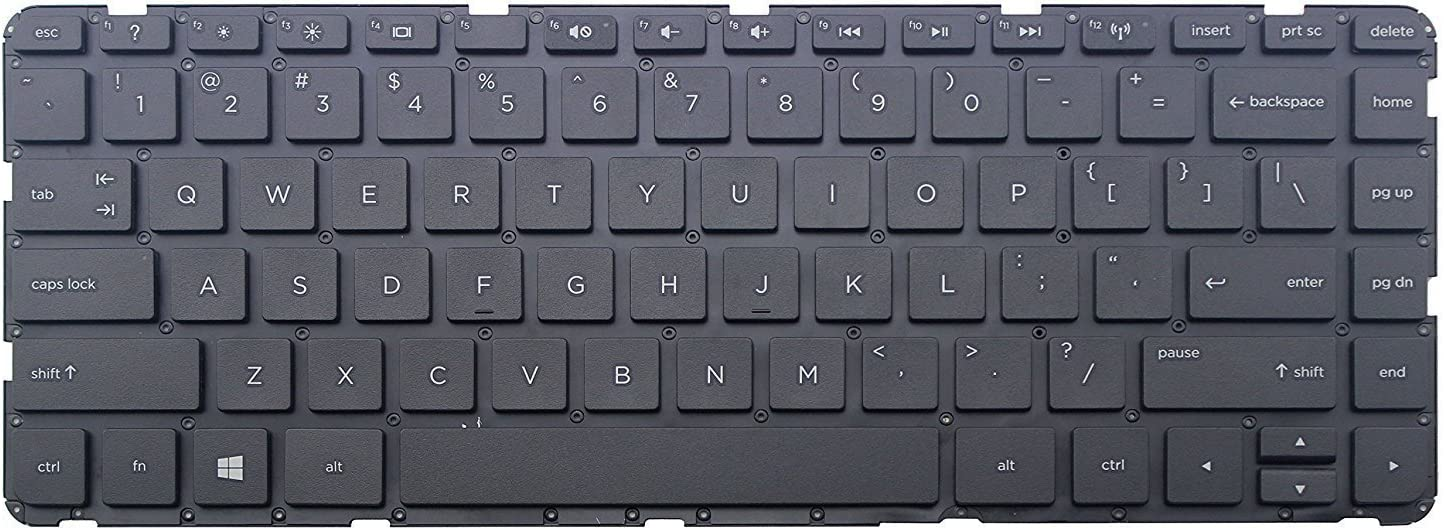 HP Home 15-BS062TU HP Home 15-bs063nb HP Home 15-bs062ur HP Home 15-BS062TX Keyboards4Laptops French Layout Black Windows 8 Laptop Keyboard Compatible with HP Home 15-BS062ST