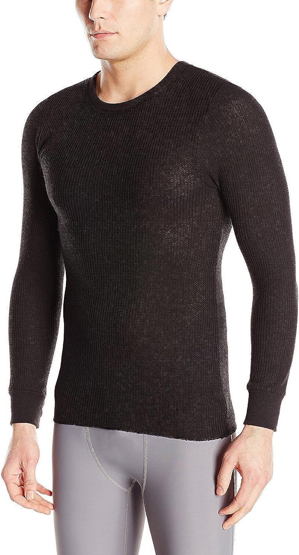 Wolverine Mens Classic Medium Weight Crew Neck Thermal Shirt