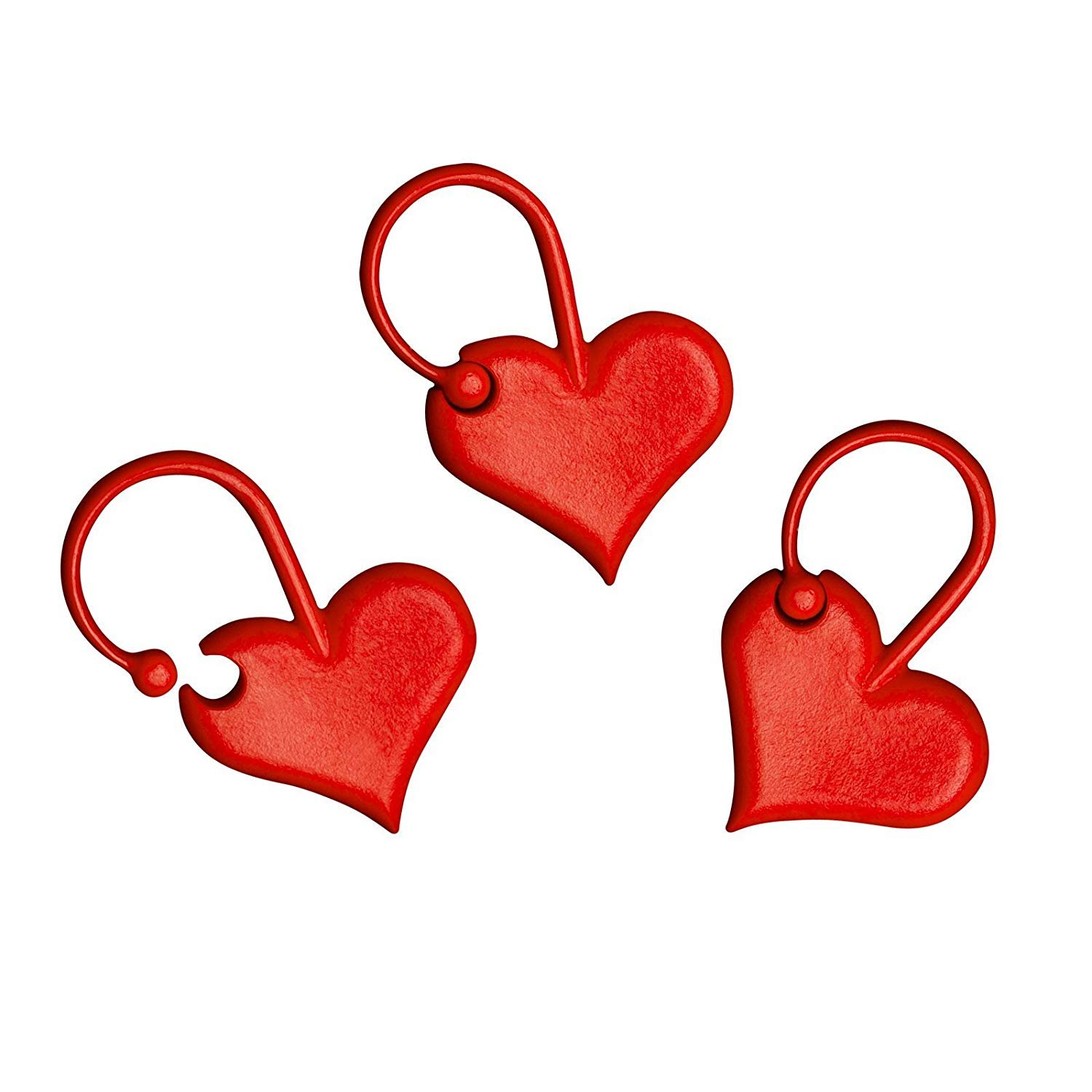 addiLove Stitch Marker Heart (25)