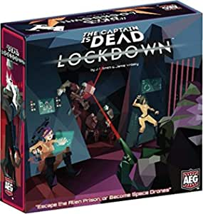 Alderac Entertainment Group ALD07018 The Captain is Dead Lockdown Board Games