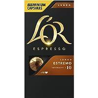 L'OR Espresso Koffiecups Lungo Estremo (100 Lungo Koffie Capsules, Geschikt voor Nespresso* Koffiemachines, Intensiteit…