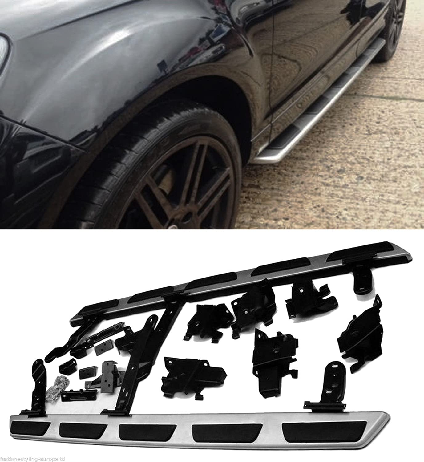 SIDE STEPS BARS BOARDS OEM FACTORY STYLE 100% OEM FIT LY8040