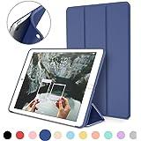 iPad Mini Case for iPad Mini 3 / 2 / 1, DTTO Ultra Slim Lightweight Smart Case Trifold Cover Stand with Flexible Soft TPU Back Cover for iPad Apple Mini, Mini 2 , Mini 3 [Auto Sleep/Wake],NavyBlue