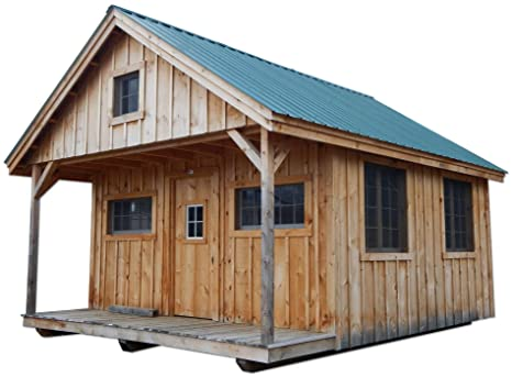 16x20 Timber Frame Post And Beam Vermont Cottage C With