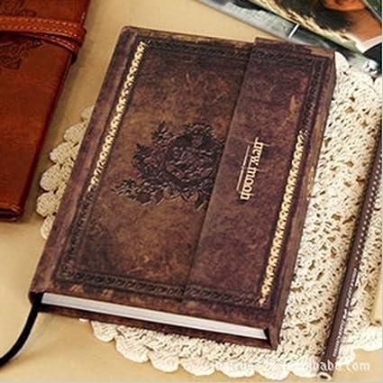 Vampire Diaries de cuaderno diario de Journal – Cuaderno de papel de diario de libros de