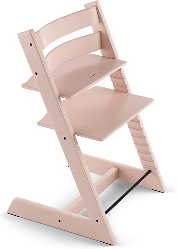 Stokke Tripp Trapp Baby Set with Harness /& Extended Gliders Serene Pink