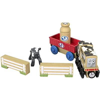 Fisher-Price Thomas & Friends Wood, Diesel's Dairy Drop-off: Toys & Games