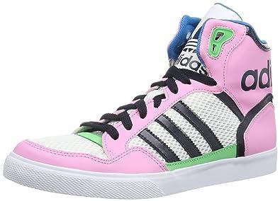size 40 d8e99 d6ee3 Adidas Extaball W (D65393), Baskets mode femme - Bleu - Blau (ST