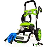 Greenworks 2000 PSI 1.2-Gallon-GPM 14 Amp Cold Water Electric Pressure Washer