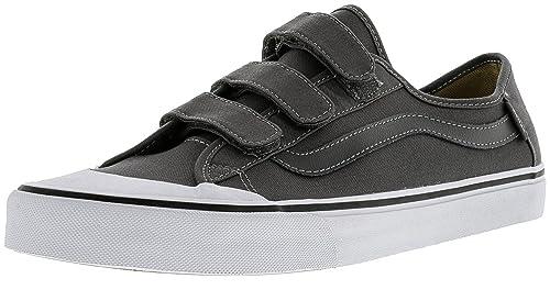 990667bd8d Vans Men s Black Ball Priz Pewter Ankle-High Canvas Fashion Sneaker - 11.5M