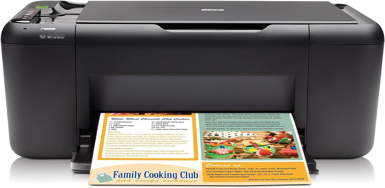 HP Deskjet F4580 - Impresora multifunción de tinta color (28 ppm ...