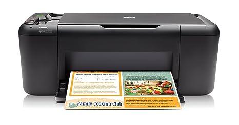 HP Deskjet F4580 - Impresora multifunción de tinta color (28 ...