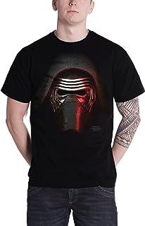 STAR WARS T Shirt Force Awakens Kylo Big Head Ufficiale Uomo