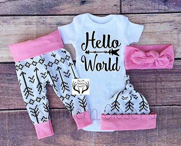 f45649a23 Amazon.com  Baby Girl Coming Home Outfit