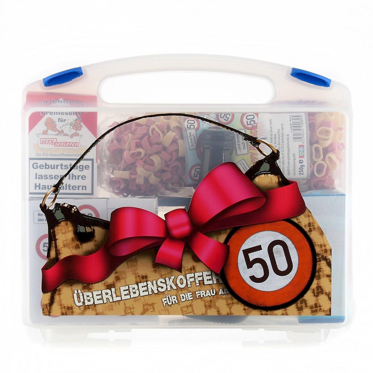 Lustige Apotheke Überlebenskoffer für die Frau ab 50 (8 teilig) Lustapotheke®