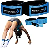 Myosource Kinetic Bands Tumble Pro X Ankle Straps – Cheerleading, Gymnastics Tumble Training Defrogger Keeps Ankles Together