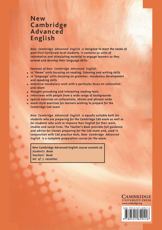 New Cambridge Advanced English Teachers Book