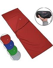 ALPIDEX Polialcotón Forro de la Bolsa de Dormir Saco sábana Interior para Saco de Dormir