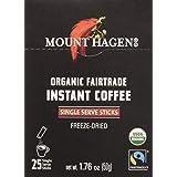 MOUNT HAGEN Organic Instant Single Serve Coffee, 1.76 oz