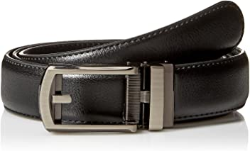 As Seen on TV B.. Comfort Click Men/'s Adjustable Perfect Fit Leather Belt New