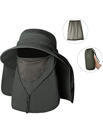 757c9eb8 Unigear Wide Brim Sun Hat, Foldable Fishing Hat UPF 50+ UV Protection  Breathable with