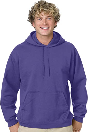 Hanes Comfortblend Pullover Hoodie Sweatshirt, 3XL Purple at