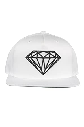 pretty nice f4bc9 88d23 Diamond Supply Co Brilliant Snapback Cap Hat White  Amazon.co.uk  Clothing