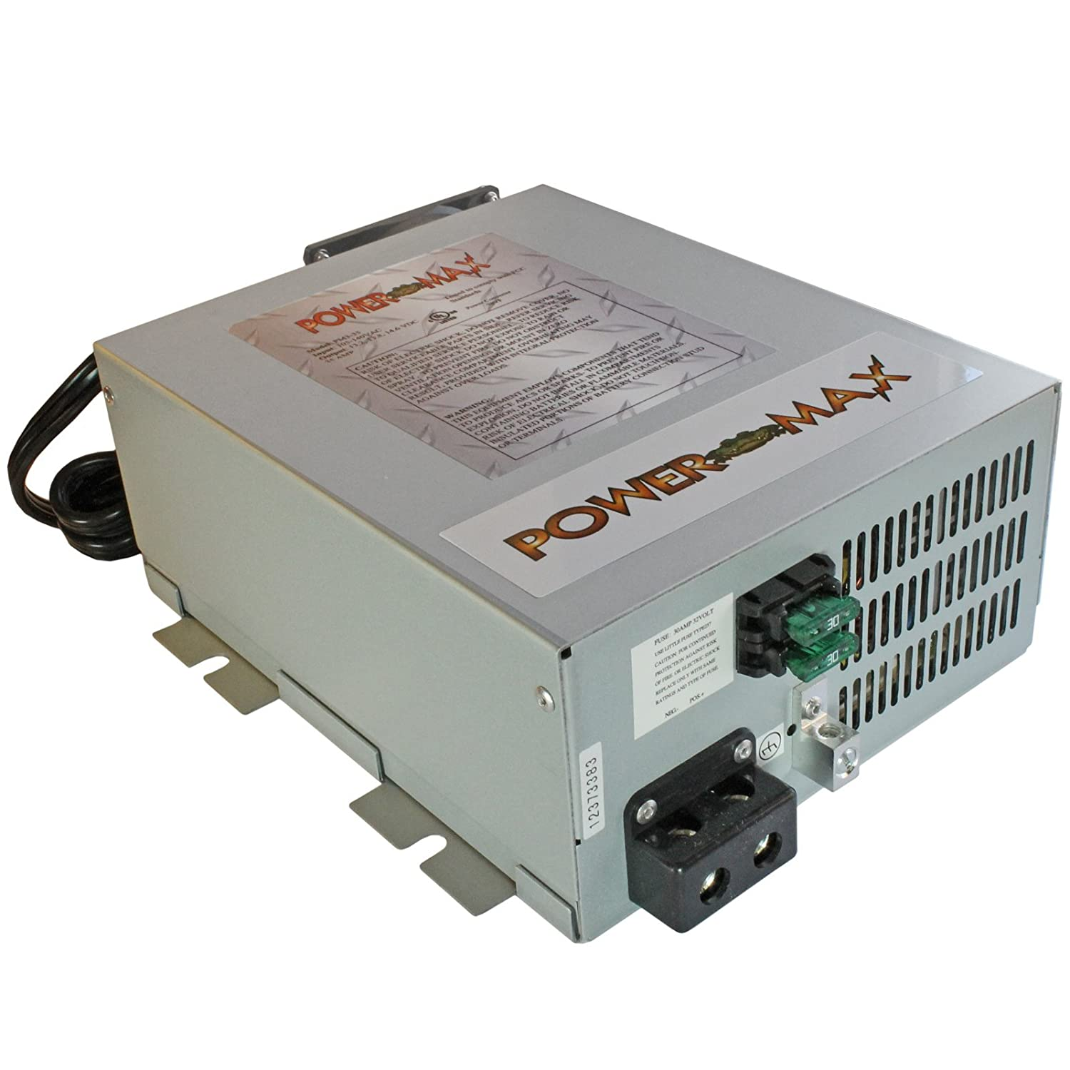 Powermax 110 Volt Ac To 12 Dc Power Supply Old 20 Amp Fuse Box Converter Charger For Rv Pm3 45 Electronics