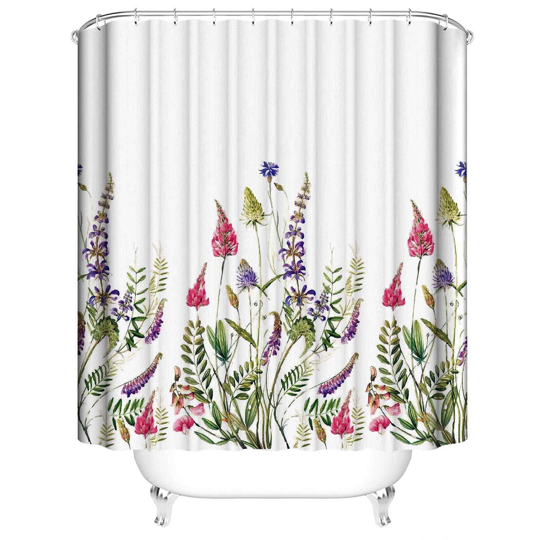 Mould Mildew Resistant Waterproof Extra Long Bath EINSKEY Shower Curtain