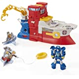 Playskool Heroes Toy - Transformers Rescue Bots - High Tide Rescue Rig Action Figure Playset