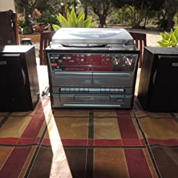 auna TC-386 minicadena con tocadiscos (sistema de audio ...