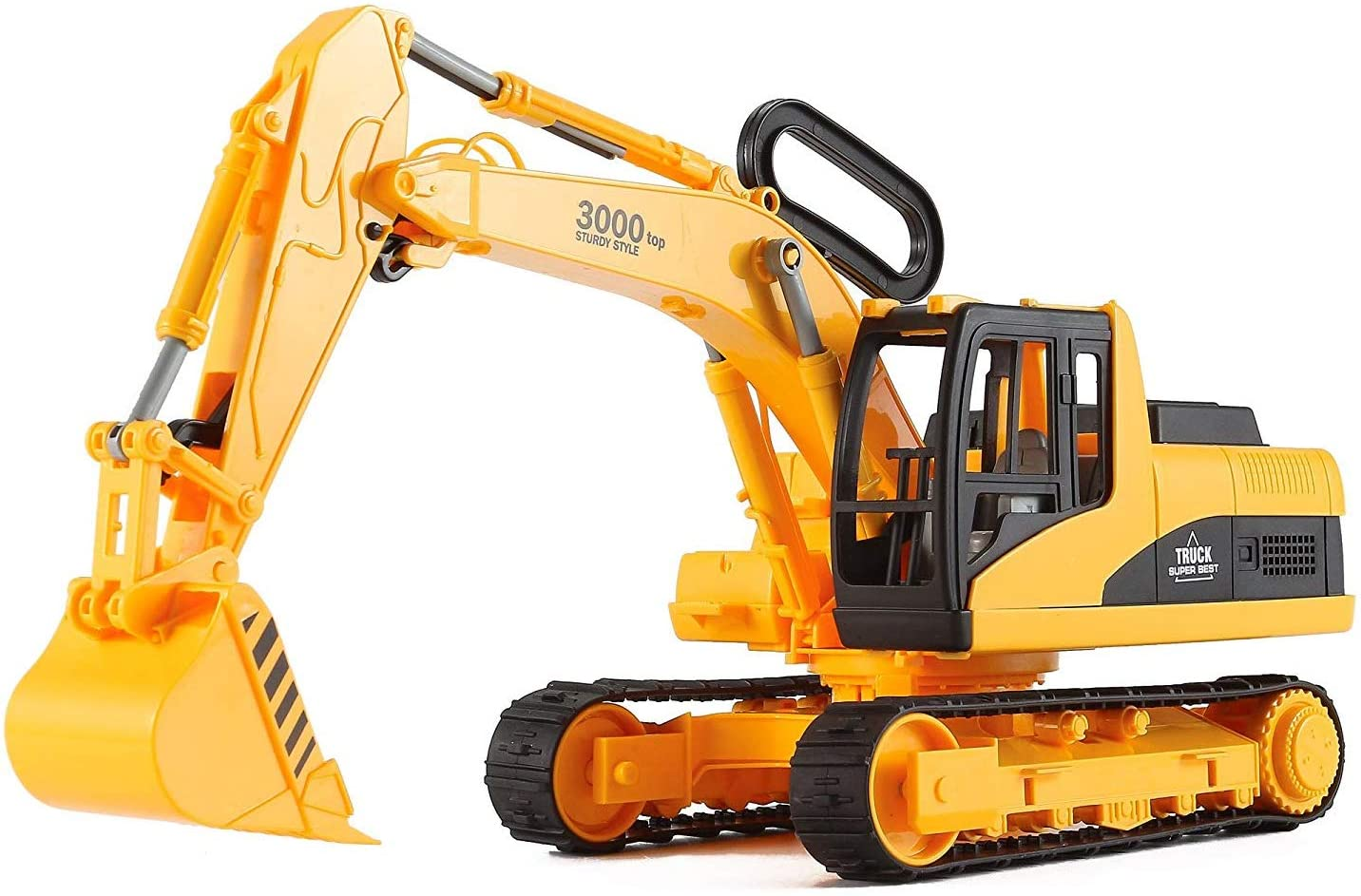 Liberty Imports Oversized Construction Excavator Truck Toy for Kids with Shovel Arm Claw