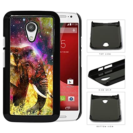Amazon.com: Cool Nebula Stars Colorful Elephant Motorola ...
