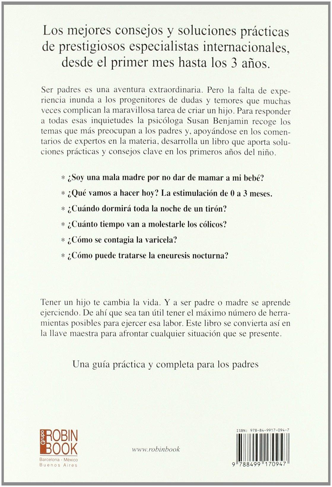 1001 ideas para cuidar al bebé (Spanish Edition): Susan Benjamin ...