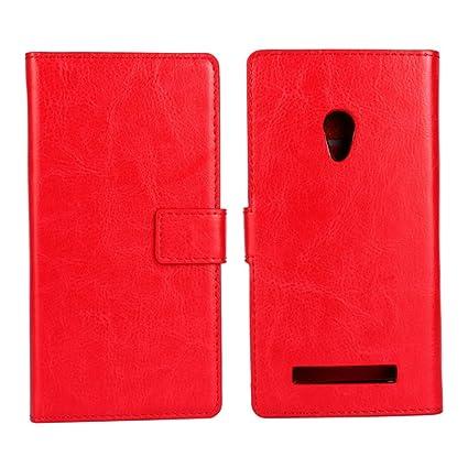 premium selection 1bb9c 3db20 Amazon.com: AICEDA Asus ZenFone 5 Wallet Case, [Folio Style ...