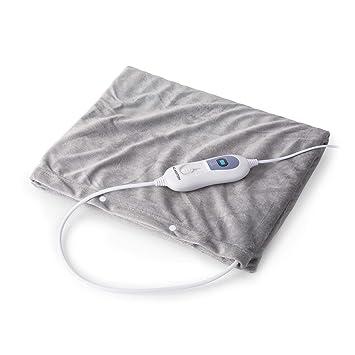 Klarstein Dr. Watson Heatzone L • Manta eléctrica • Calentador de Cama • Alfombra térmica
