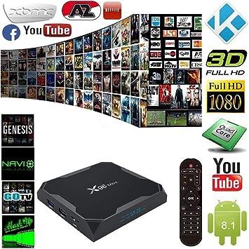 Android 81 Tv Box X96 Max Tv Gerät Top Box S905w Netzwerk Player 4g