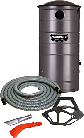 VacuMaid UV150CKP Extended Life Wall Mounted Commercial Vacuum with 50 ft. Car Care Kit Unit and Kit