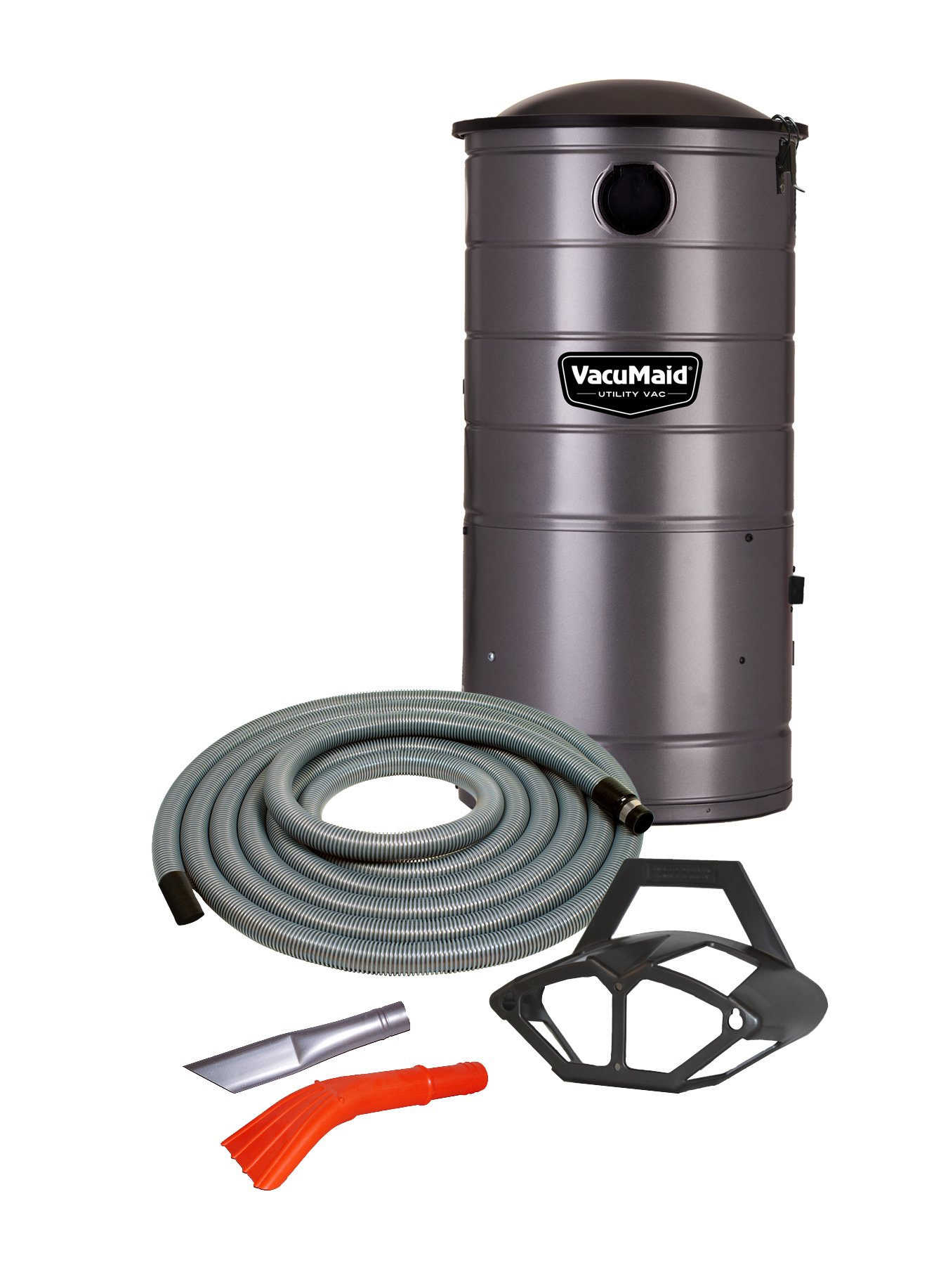 VacuMaid UV150CKP Extended Life Professional Wall Mounted Utility Vacuum with 50 ft. Car Kit Pro
