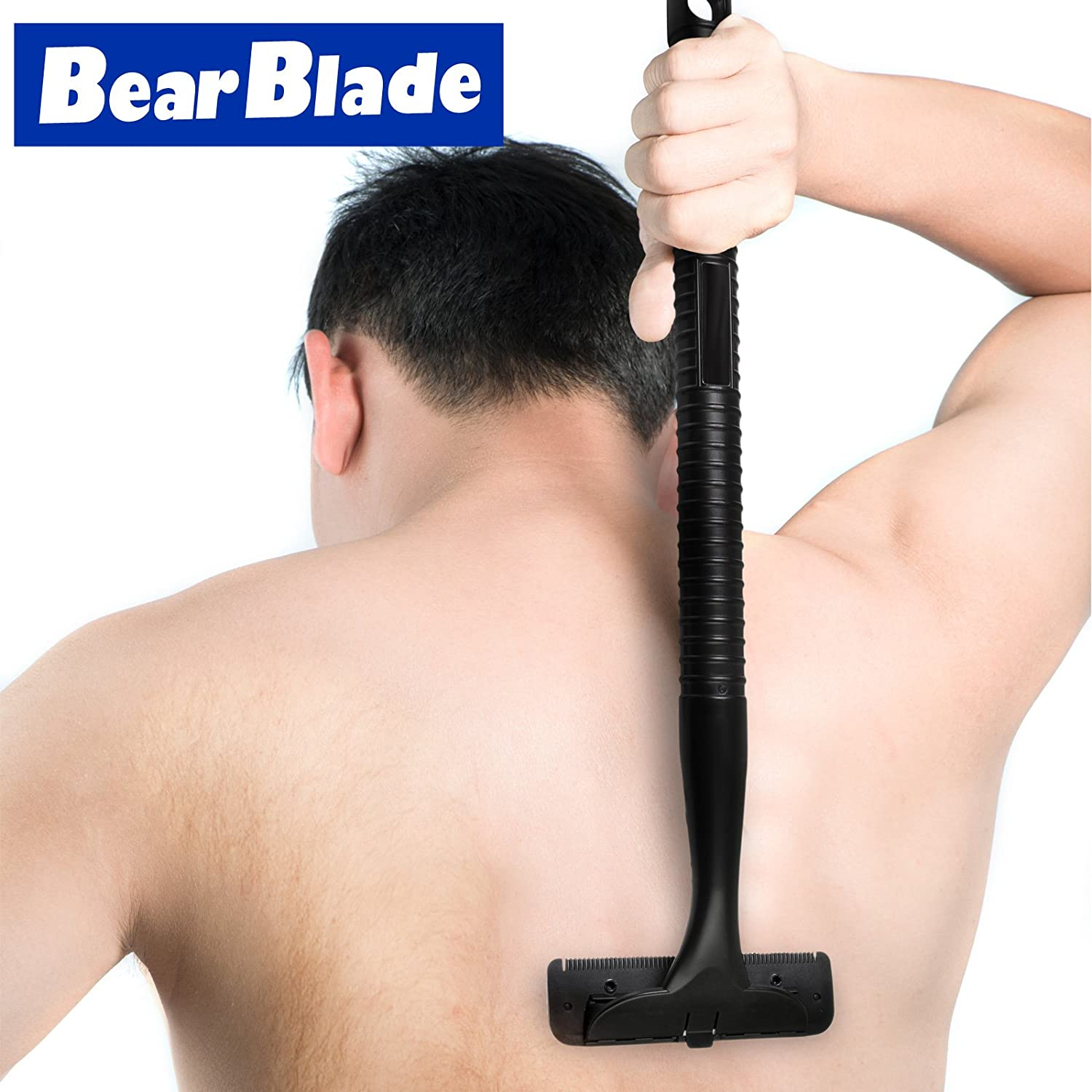 BearBlade Men's Easy to Use Back Razor/Shaver, Hair Remover Razor Hairy Backs BareBlade
