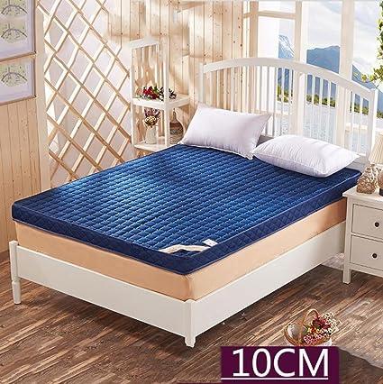 LJ&XJ Thick tatami mat,Non-slip foldable memory foam tatami mattress non-slip