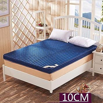 LJ&XJ Estera de Tatami Grueso,Antideslizante Plegable Tatami colchón Antideslizante Cama colchones viscoelásticos,10cm