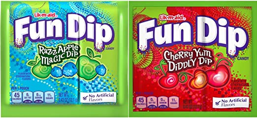 FUN DIP (Lik M Aid), 100 Count