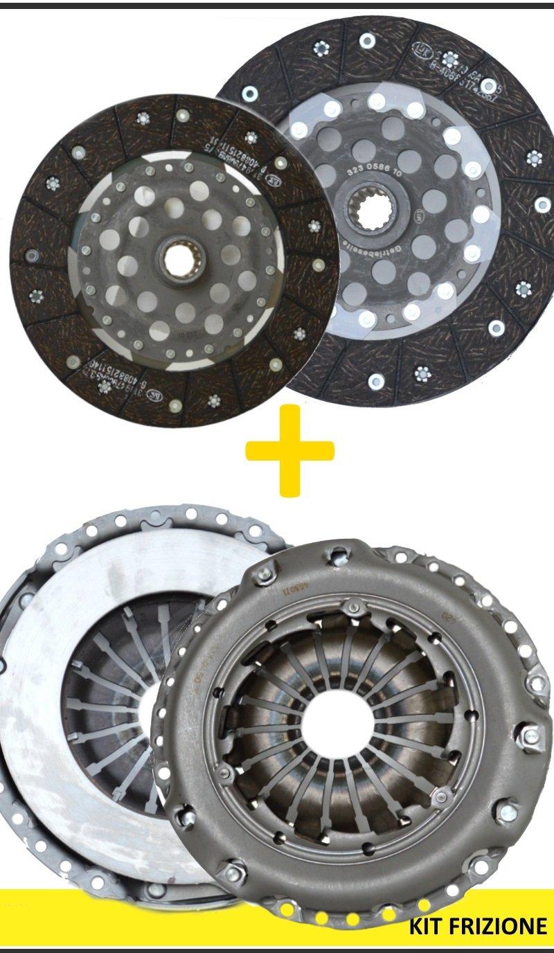 6000 166 00 Kit Embrague + Volante Luk 4 piezas Original 600016600: Amazon.es: Coche y moto