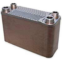 Hrale Intercambiador calor térmico acero inoxidable 50 placas